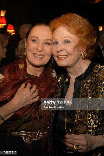 Rita Gam and Arlene Dahl during Official 2003 Academy of Motion Picture Arts and Sciences Oscar Night Party at Le Cirque 2000 at Le Cirque 2000 in...