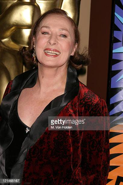 Rita Gam during Academy of Motion Picture Arts and Sciences Official Academy Awards viewing party at Le Cirque 2000 in New York New York United States