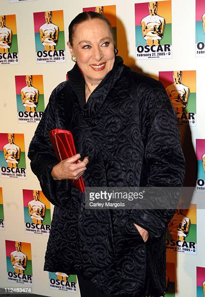 Rita Gam during Official 2005 Academy of Motion Picture Arts Sciences Oscar Night Party at Gabriel's at Gabriel's Restaurant and Bar in New York City...