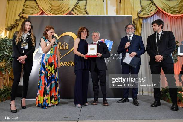 Rita Guarino during the Cuore Bianco Nero dinner for Candiolo Onlus on May 14, 2019 in Gravellona Toce, Italy.