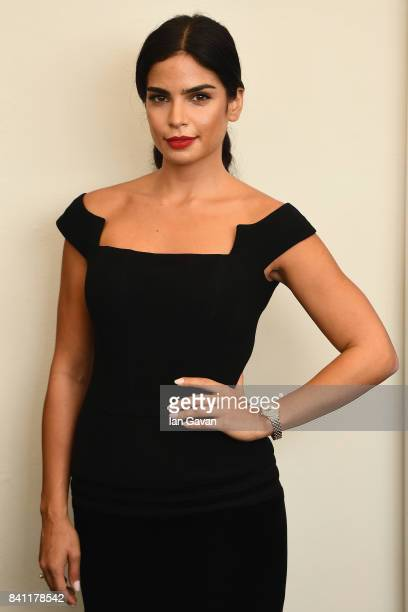 Rita Hayek wearing a JaegerLeCoultre RendezVous Night Day watch attends the 'The Insult' photocall during the 74th Venice Film Festival at Sala...
