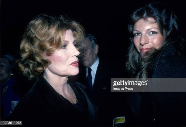 Rita Hayworth and Yasmin Khan circa 1984 in New York City