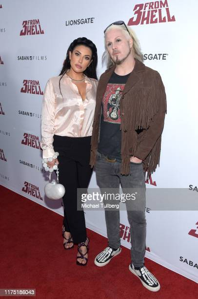 Rita Lowery and John 5 attends a special screening of Lionsgate's 3 From Hell at the Vista Theatre on September 16 2019 in Los Angeles California