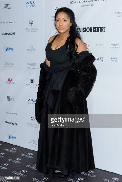 Rita Mahrez attends The Asian Awards at Hilton Park Lane on May 5 2017 in London England