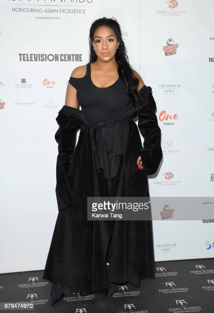 Rita Mahrez attends The Asian Awards at the Hilton Park Lane on May 5 2017 in London England