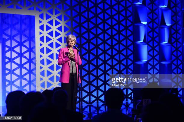 Rita Moreno accepts her Career Achievement Peabody Award onstage at the 78th Annual Peabody Awards Ceremony Sponsored By Mercedes-Benz at Cipriani...