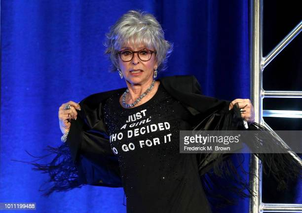 Rita Moreno accepts the Lifetime Achievement Award onstage during the 34th Annual Television Critics Association Awards during the 2018 Summer TCA...
