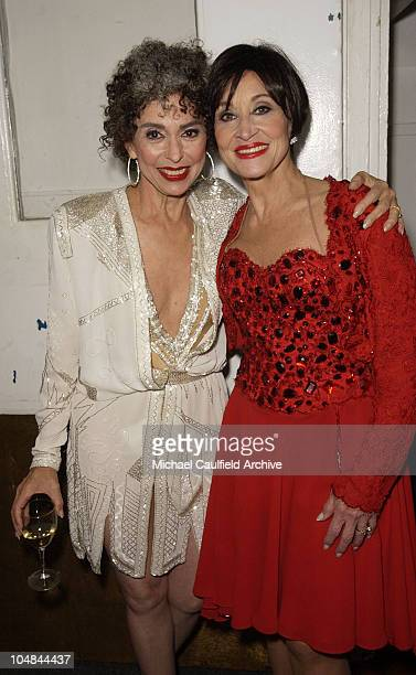 Rita Moreno and Chita Rivera during Katie Couric and the Entertainment Industry Foundation Unite Hollywood Broadway Stars to Launch The Jay Monahan...