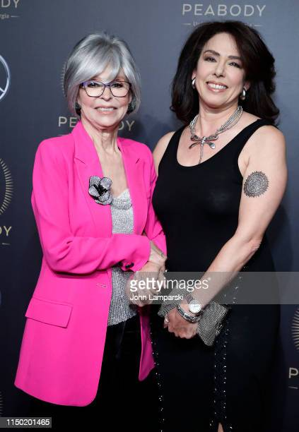 Rita Moreno and Fernanda Fisher attend the 78th Annual Peabody Awards at Cipriani Wall Street on May 18 2019 in New York City