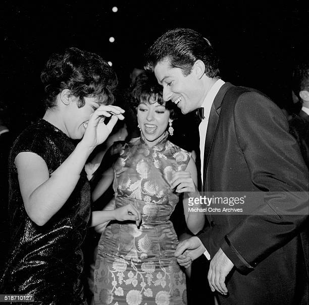 Rita Moreno and George Chakiris attend an event in Los AngelesCA