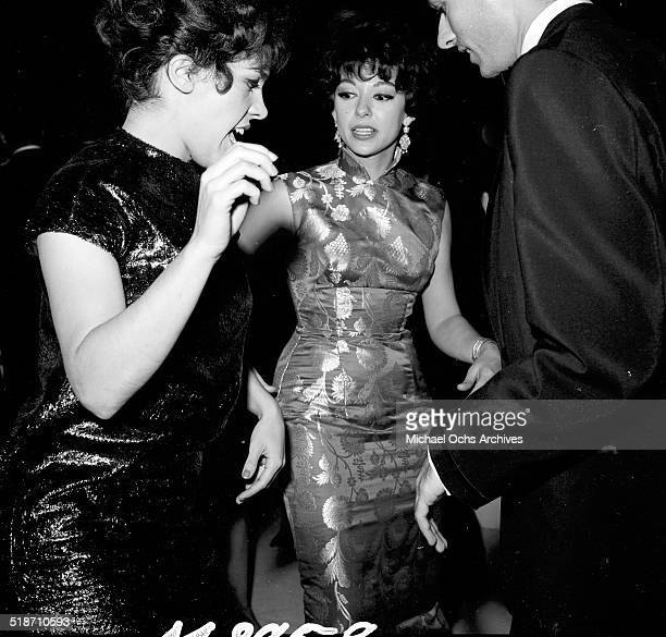 Rita Moreno and George Chakiris attend an event in Los Angeles,CA.