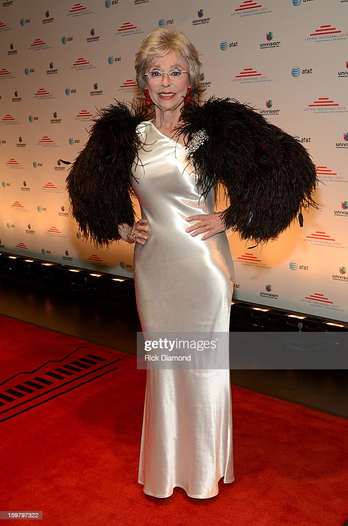 Rita Moreno attends Latino Inaugural 2013: In Performance at Kennedy Center at The Kennedy Center on January 20, 2013 in Washington, DC.