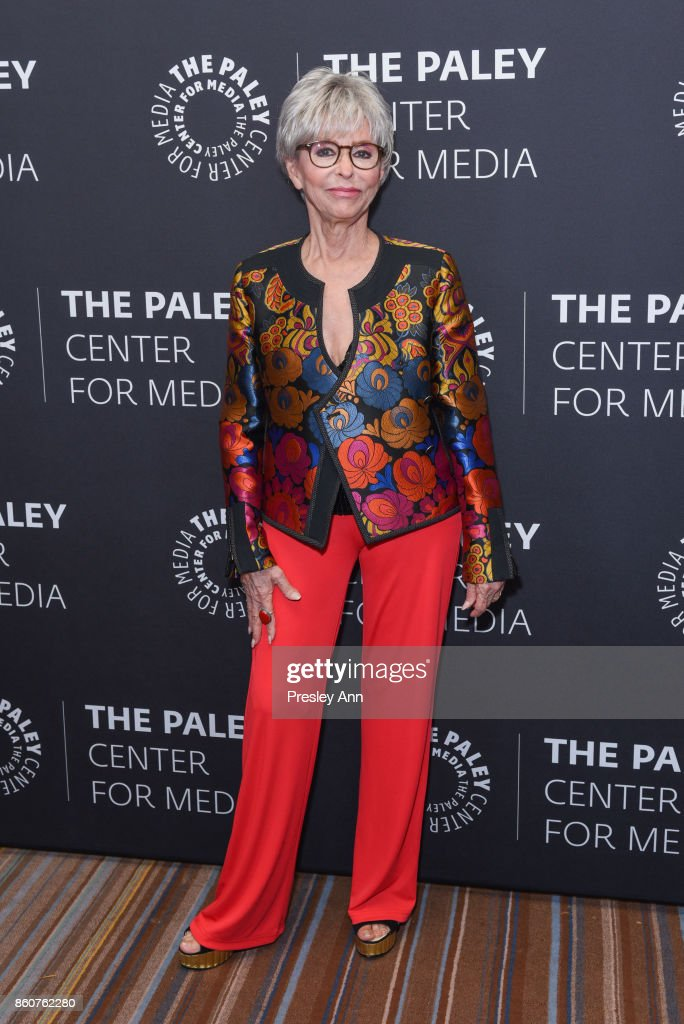 Rita Moreno attends Paley Honors in Hollywood: A Gala Celebrating Women in Television at Regent Beverly Wilshire Hotel on October 12, 2017 in Beverly Hills, California.