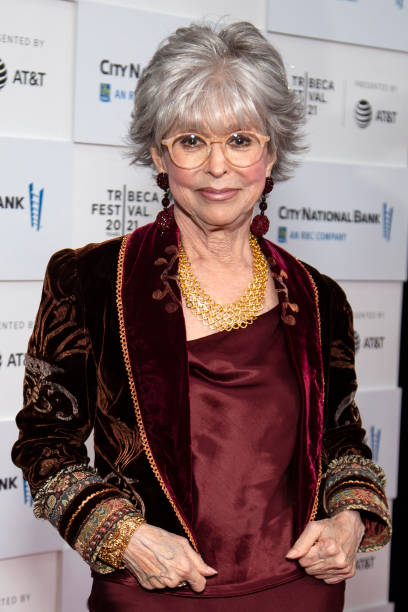 """NY: """"Rita Moreno: Just A Girl Who Decided To Go For It"""" - 2021 Tribeca Festival"""