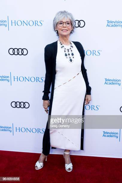 Rita Moreno attends the 11th Annual Television Academy Honors at NeueHouse Hollywood on May 31 2018 in Los Angeles California