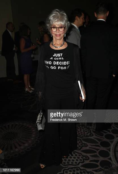 Rita Moreno attends the 34th Annual Television Critics Association Awards during the 2018 Summer TCA Tour at The Beverly Hilton Hotel on August 4...