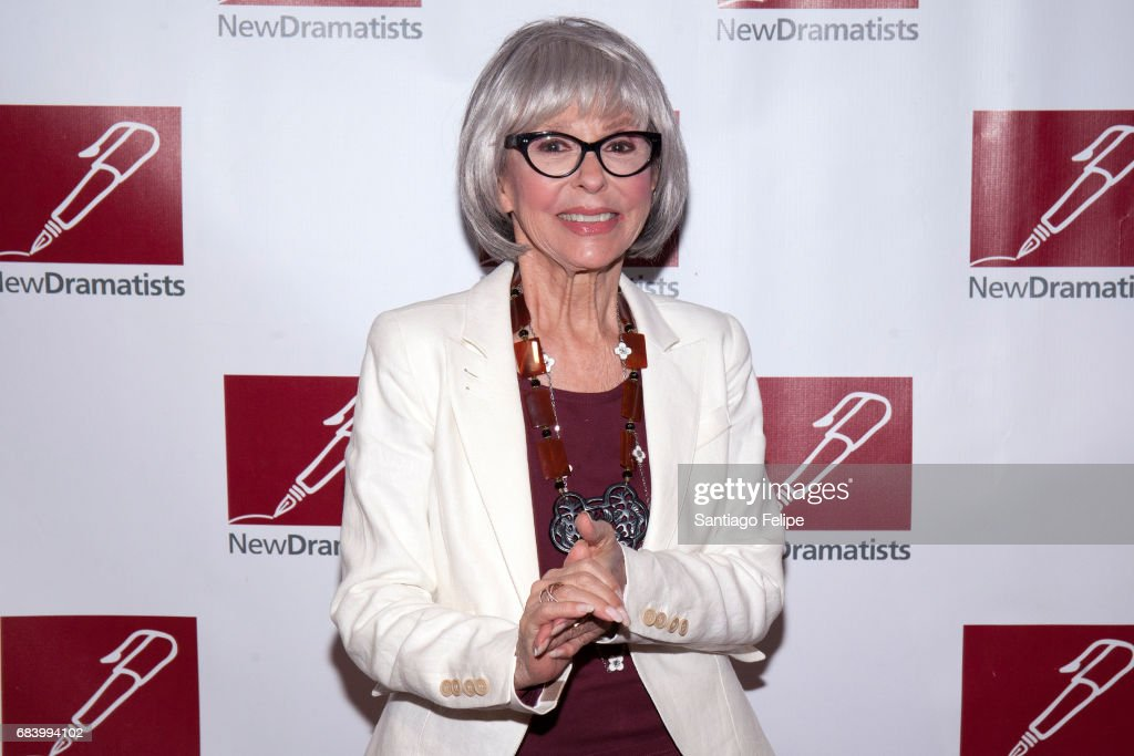 Rita Moreno attends the 68th Annual New Dramatists Spring Luncheon at New York Marriott Marquis Hotel on May 16, 2017 in New York City.