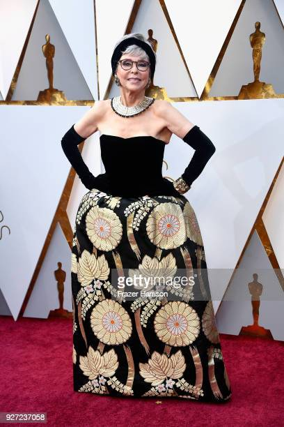 Rita Moreno attends the 90th Annual Academy Awards at Hollywood Highland Center on March 4 2018 in Hollywood California