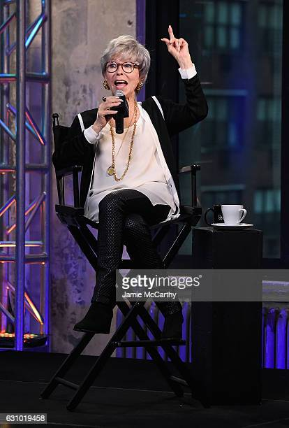 "Rita Moreno attends the Build Presents Rita Moreno Discussing ""One Day At A Time"" at AOL HQ on January 5, 2017 in New York City."