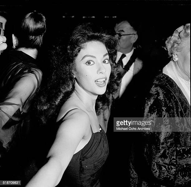 """Rita Moreno attends the movie premiere of """" Spirit of St. Louis """" in Los Angeles,CA."""