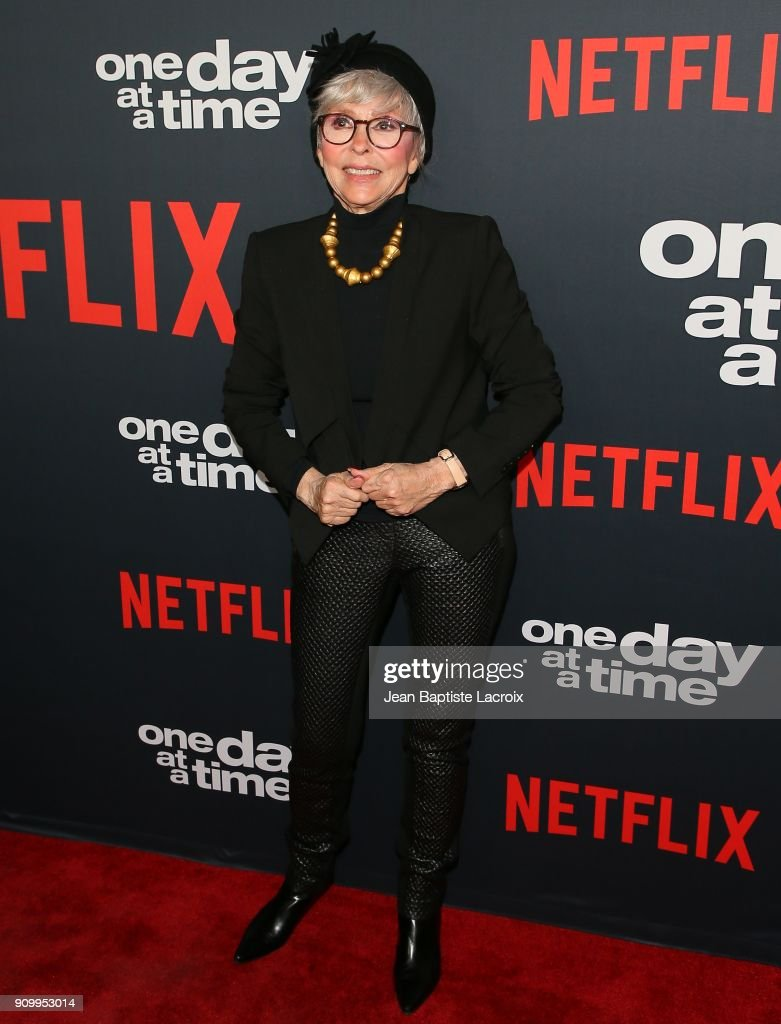 Rita Moreno attends the premiere of Netflix's 'One Day At A Time' Season 2 on January 24, 2018 in Hollywood, California.