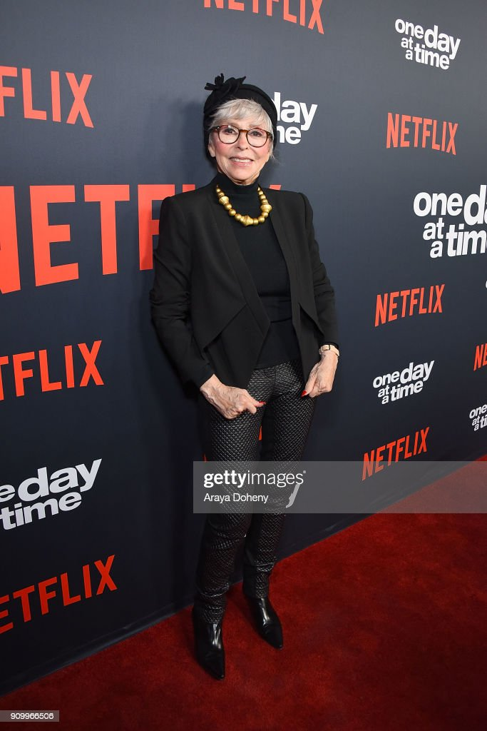 Rita Moreno attends the premiere of Netflix's 'One Day At A Time' season 2 at ArcLight Hollywood on January 24, 2018 in Hollywood, California.