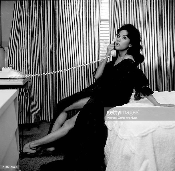 Rita Moreno poses at home in Los Angeles,CA.