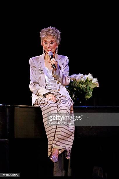 Rita Moreno Preforms At The Sunset Center Carmel California