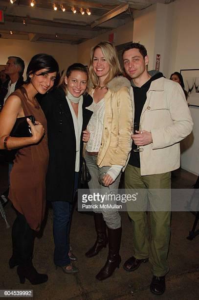 Rita Nakouzi and attend Mikhail Baryshnikov hosts InterCourse Photographs by Eikoh Hosoe at 401 Projects on November 4 2006 in New York