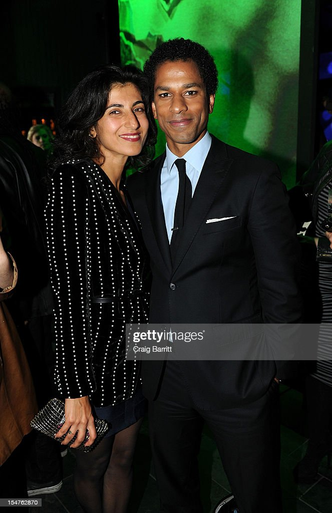 Rita Nakouzi and Toure attend the Media Company Launch Party For Quartz on October 25, 2012 in New York City. (Photo by Craig Barritt/Getty Images for Quartz (qz.com))