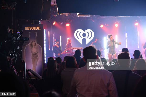 Rita Ora and Absolut Open Mic Project inspire acceptance through music at exclusive performance during 2017 iHeartRadio Jingle Ball Tour at...