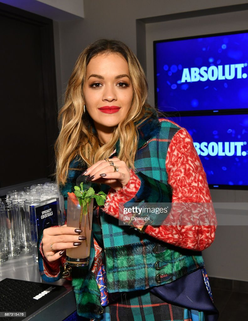 Rita Ora and Absolut Open Mic Project inspire acceptance through music at exclusive performance during 2017 iHeartRadio Jingle Ball Tour at iHeartRadio Theater on December 6, 2017 in New York City.