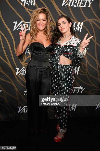 Rita Ora and Charli XCX attend Variety Power of Young Hollywood at TAO Hollywood on August 8 2017 in Los Angeles California