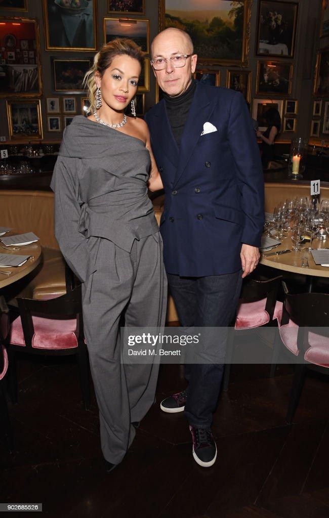 Dylan Jones & Rita Ora Host London Fashion Week Men's Dinner - LFWM January 2018