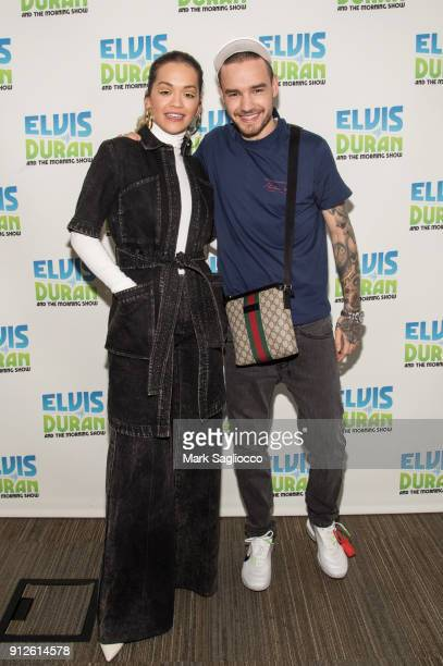 Rita Ora and Liam Payne visit The Elvis Duran Z100 Morning Show at Z100 Studio on January 31 2018 in New York City