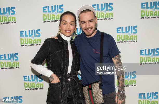 Rita Ora and Liam Payne visit 'The Elvis Duran Z100 Morning Show' at Z100 Studio on January 31 2018 in New York City