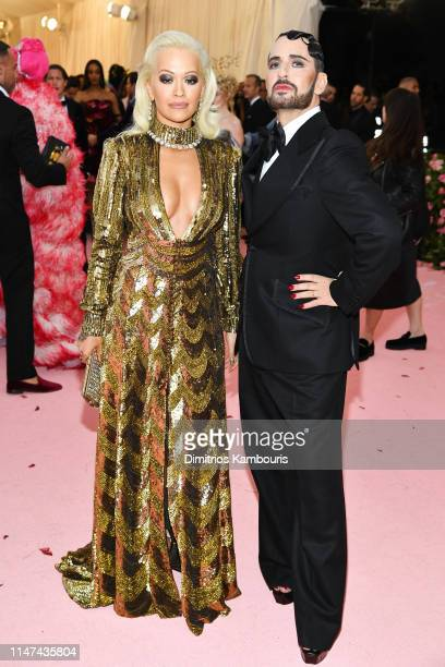 Rita Ora and Marc Jacobs attend The 2019 Met Gala Celebrating Camp Notes on Fashion at Metropolitan Museum of Art on May 06 2019 in New York City