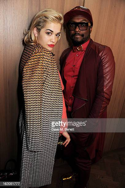 Rita Ora and william attend the AnOther Magazine and Dazed Confused party with Belvedere Vodka at the Cafe Royal hotel on February 18 2013 in London...