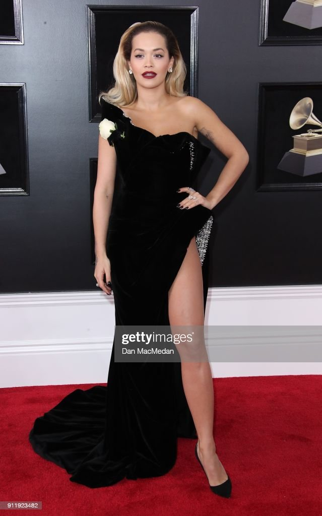 60th Annual GRAMMY Awards - Arrivals : News Photo