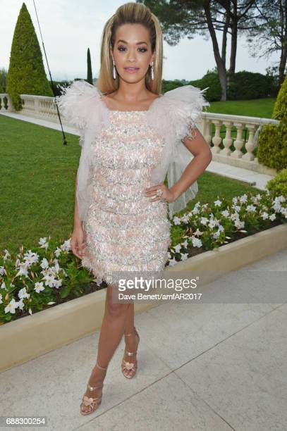 Rita Ora arrives at the amfAR Gala Cannes 2017 at Hotel du CapEdenRoc on May 25 2017 in Cap d'Antibes France