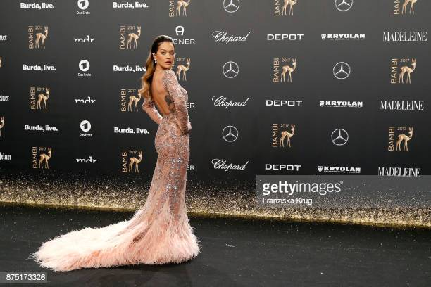 Rita Ora arrives at the Bambi Awards 2017 at Stage Theater on November 16 2017 in Berlin Germany