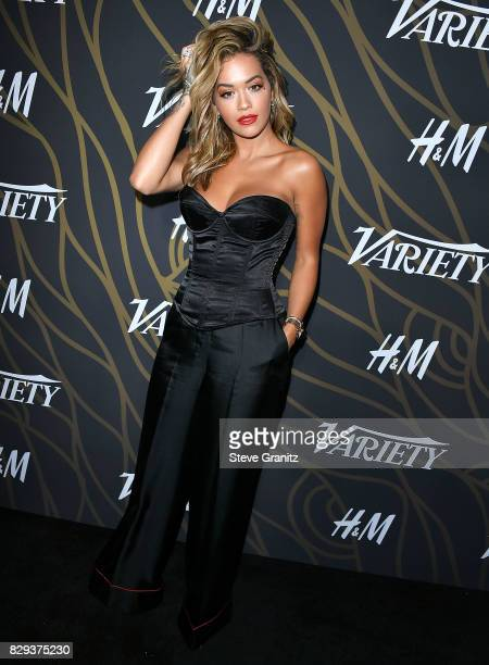 Rita Ora arrives at the Variety Power Of Young Hollywood at TAO Hollywood on August 8 2017 in Los Angeles California