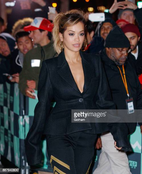 Rita Ora at AOL Build on December 7 2017 in New York City
