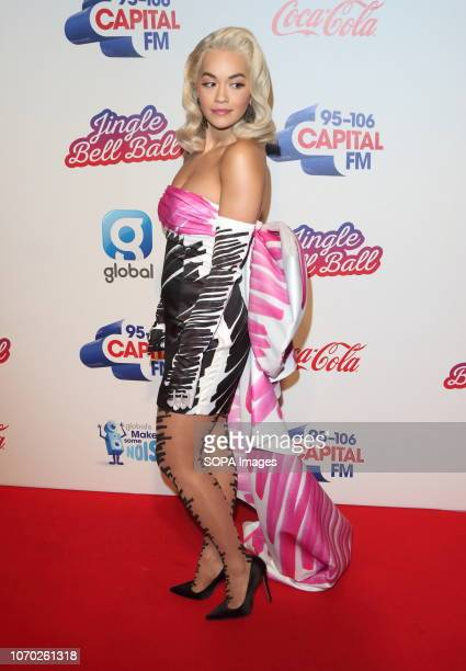Rita Ora at the Capital Jingle Bell Ball with CocaCola on Day one at The O2 in Peninsula Square