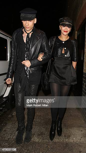 Rita Ora at the Chiltern Firehouse on May 28 2015 in London England