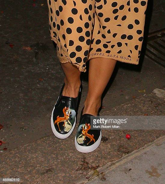 Rita Ora at the Chiltern Firehouse on September 16 2014 in London England