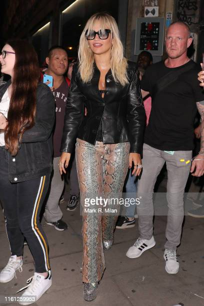 Rita Ora at Village Underground for her Amazon Prime Day Performance on July 10 2019 in London England