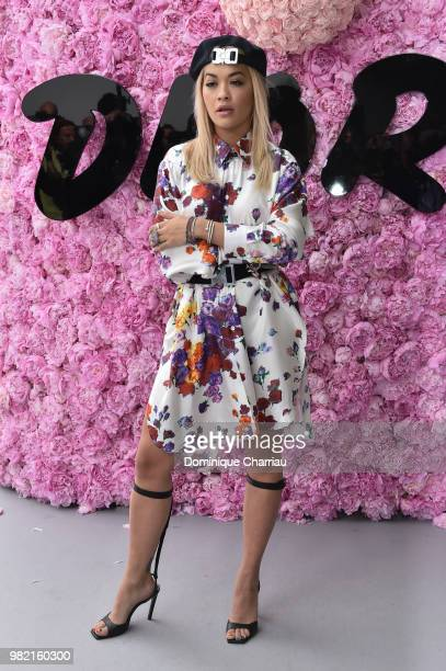Rita Ora attend the Dior Homme Menswear Spring/Summer 2019 show as part of Paris Fashion Week on June 23 2018 in Paris France