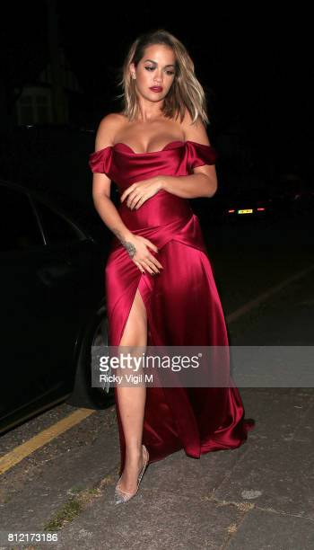 Rita Ora attends a Cartier event and after party at Freemasons Hall on July 6 2017 in London England