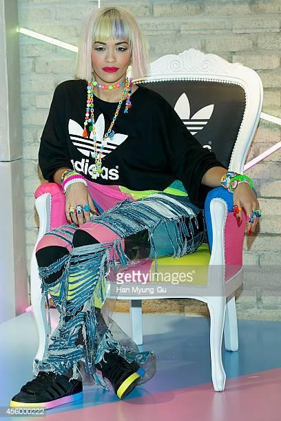 Rita Ora attends Adidas Originals by Rita Ora Lunch Event at Adidas Originals Flagship Store on September 23 2014 in Seoul South Korea